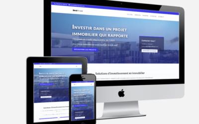 Création d'un site internet WordPress pour un indépendant